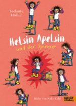 """Cover vom Buch'Für alle Rumpelstilzchen: """"Helsin Apelsin und der Spinner""""'"""