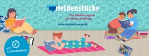 Heldenstücke Banner Zuhausebleiben