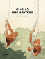 Cover vom Buch'Orang-Utans auf Sumatra: Ginting und Ganteng'