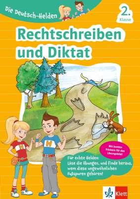Cover Die Deutsch-Helden: Rechtschreiben und Diktat