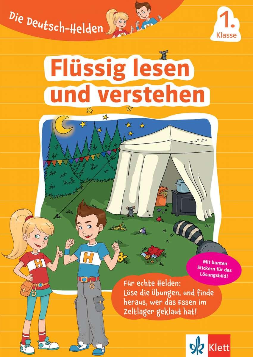 Cover Die Deutsch-Helden: Flüssig lesen und verstehen
