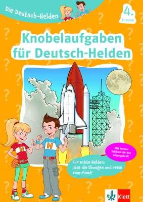 Cover Die Deutsch-Helden: Knobelaufgaben für Deutsch-Helden