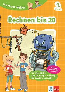 Cover Die Mathe-Helden: Rechnen bis 20