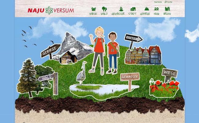 Kl!ck T!pps: Umwelt schützen - Najuversum