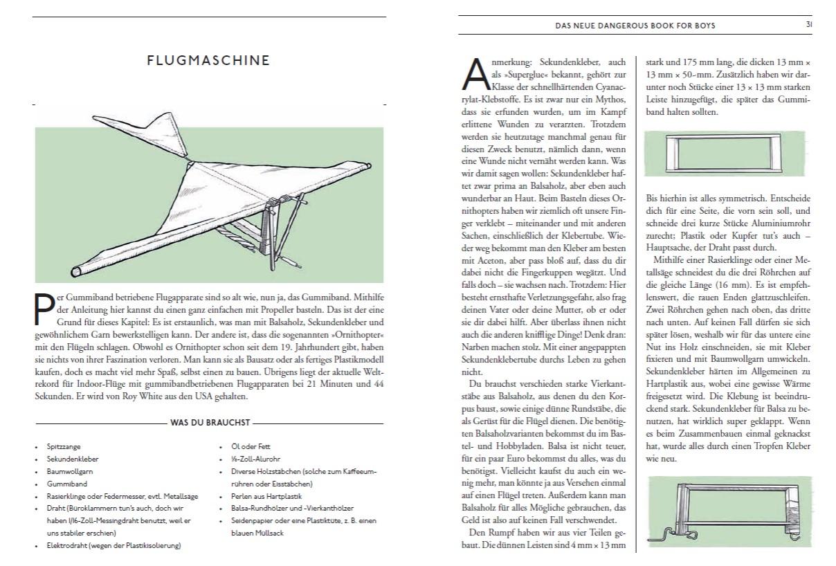 Dangerous Book: Flugmaschine