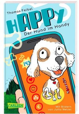 Cover hAPPy, der Hund im Handy