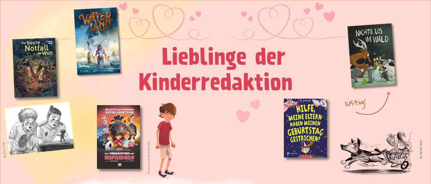Leselieblinge der Kinderredaktion