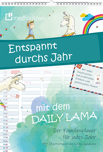 Cover Der Daily Lama Familienplaner