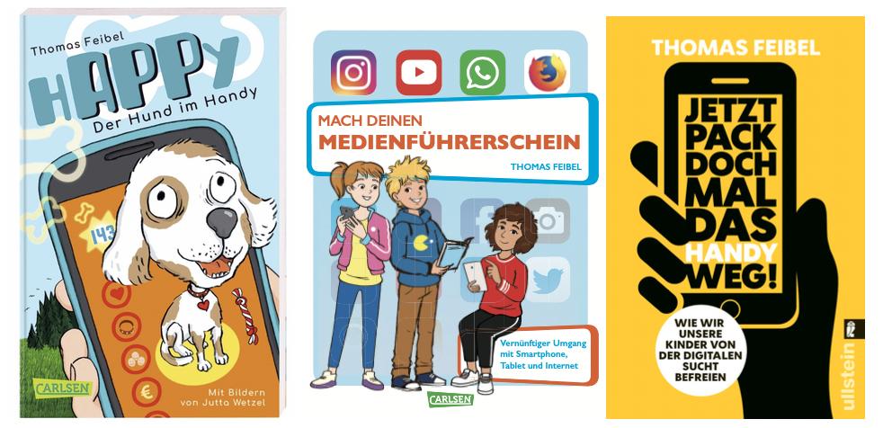 Bücher von Thomas Feibel - Medienkompetenz und Lernsoftware
