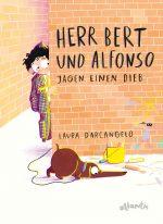 Cover vom Buch'Eine Detektivgeschichte mit Herrn Bert und Alfonso'