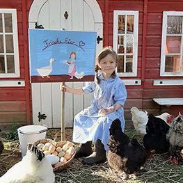 """Bild aus: """"Zuhause ist, wo meine Hühner sind"""" von Tanja Berlin"""