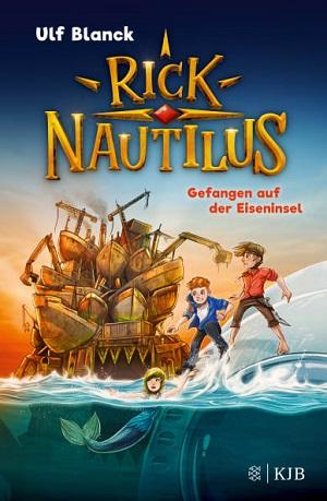 Cover Rick Nautilus - Gefangen auf der Eiseninsel