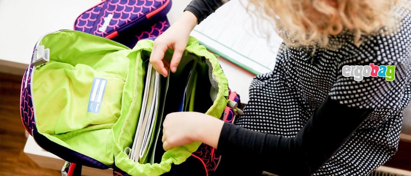 Schultasche richtig packen - ergobag
