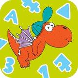 Abbildung von Kinderbuchheld Drache Kokosnuss