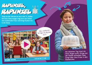 Rapunzel, Rapunzel: Eine Fotostory zu Mut im Netzt (Vorschaubild)