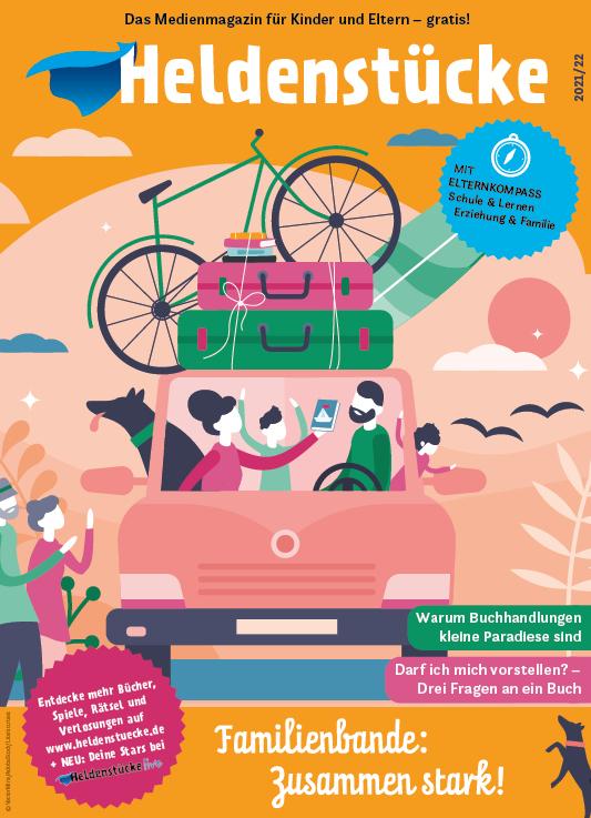 Cover Heldenstücke Magazin Heft 5 2021/22