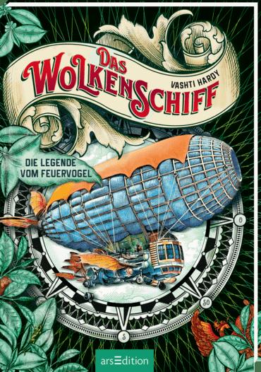 Cover Das Wolkenschiff - Die Legende vom Feuervogel