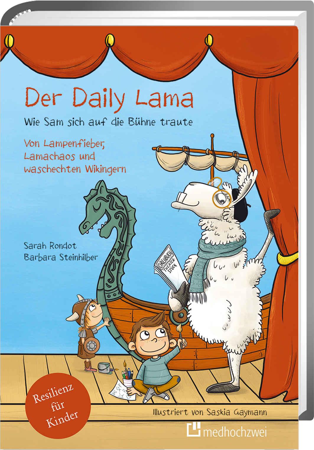 Cover Der Daily Lama. Wie Sam sich auf die Bühne traute.