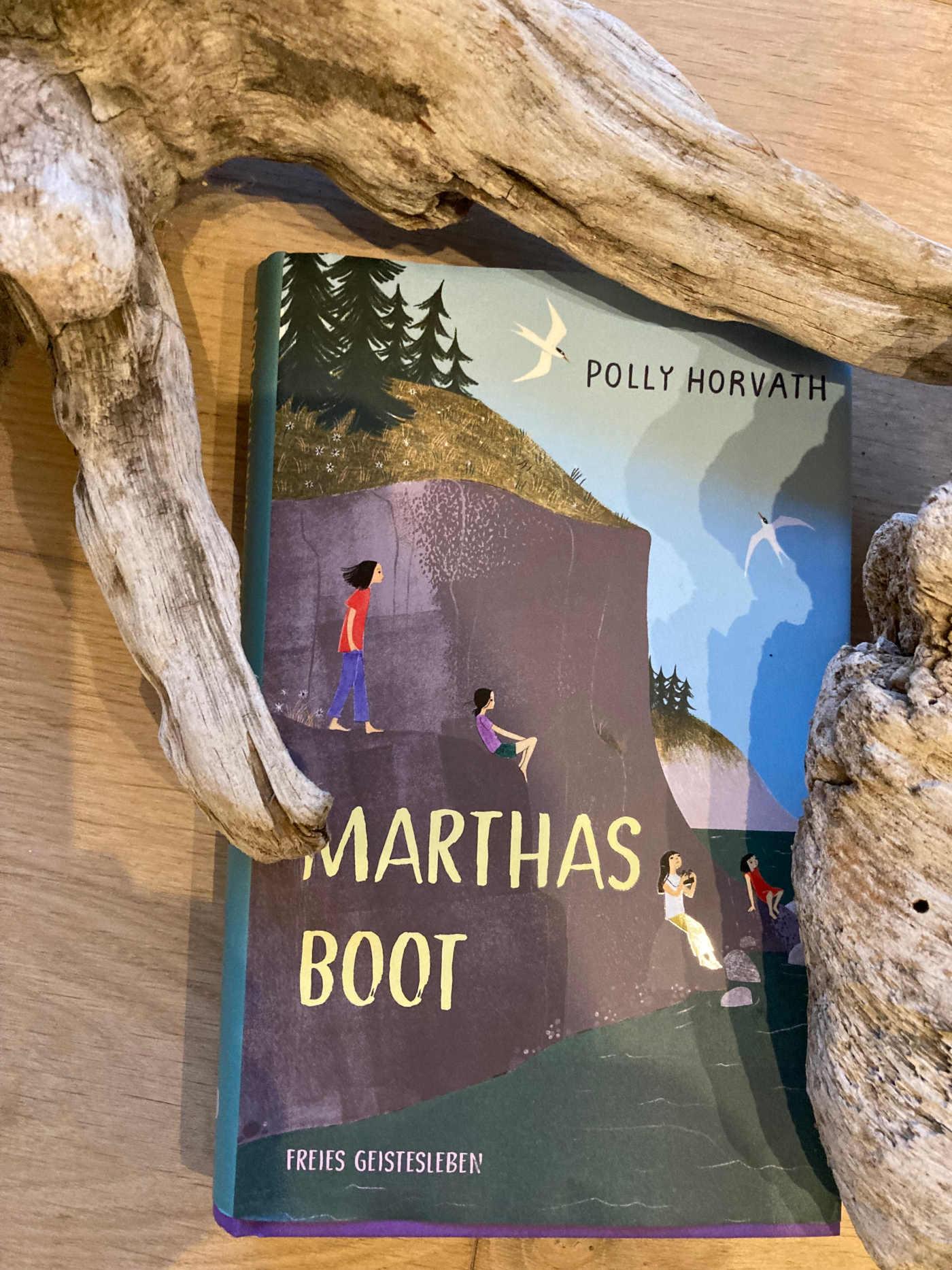 """Cover von """"Marthas Boot"""""""