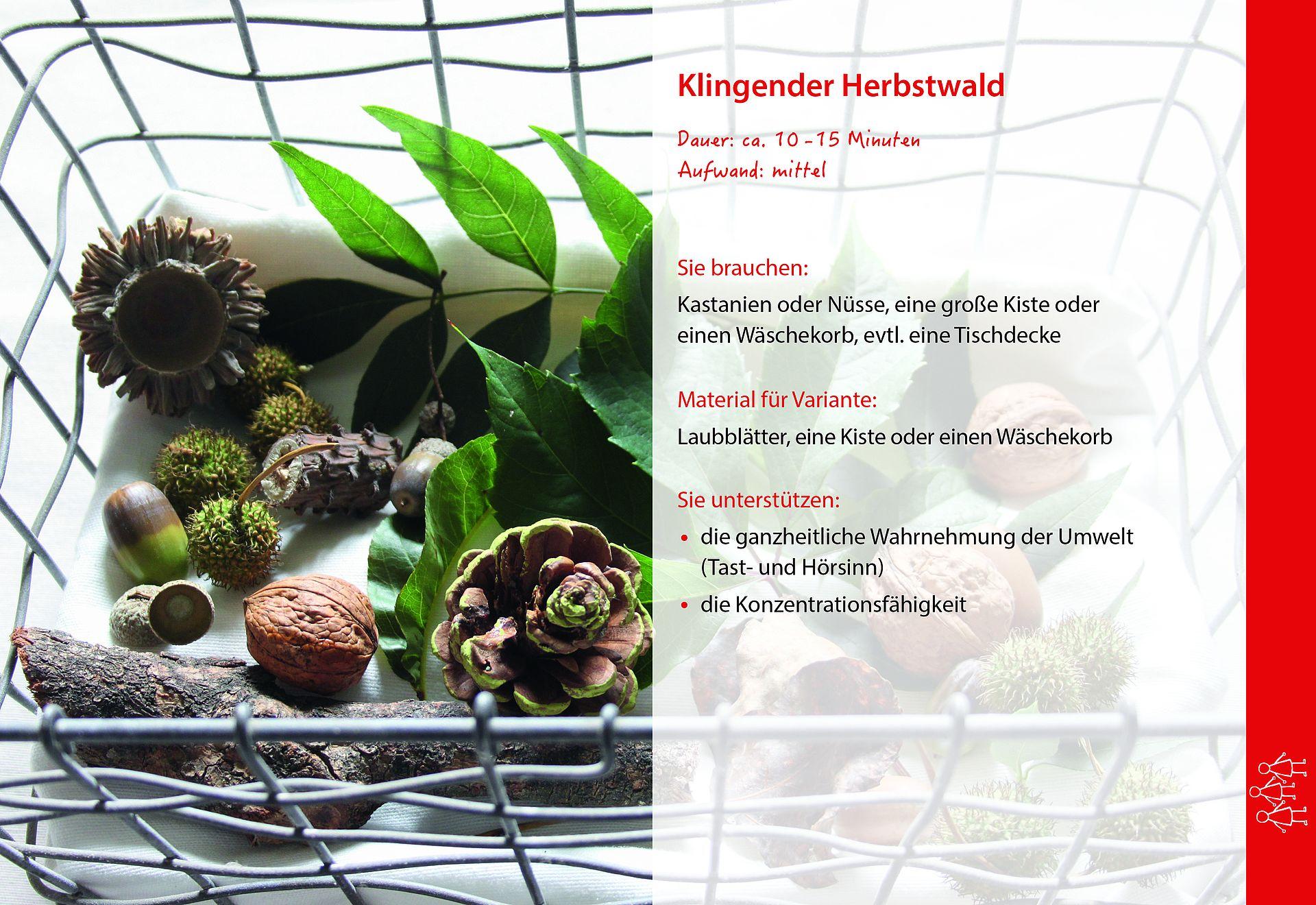 Ohrenspitzer Methodenkarte: Klingender Herbstwald